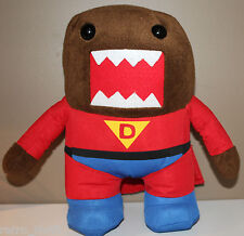 """12.5"""" Super Domo Plush Character Red Suit and Cape 2012"""