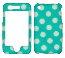 Polkadots On Green for Apple iPhone 3G 3GS    Case Cover