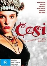 Cosi (DVD, 2007), REGION-4, LIKE NEW, FREE SHIPPING WITHIN AUSTRALIA
