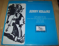 Sonny Rollins guest artist: Thad Jones FS-220 Archieve of Folk Music JAZZ Series