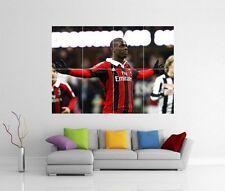 Mario Balotelli Ac Milan De Pared Gigante Impresión de Arte Imagen Foto Cartel J54