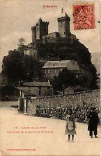 CPA  L'Ariége - Les Tours de Foix -Vue prise de la Route de St-Girons  (351030)