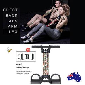 INNSTAR Foot Pedal Resistance Bands 90kg Home Workout Gym Training