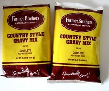 GRAVY MIX by FARMER BROTHERS  COUNTRY STYLE 2 BAGS 1.5 LB BAG  042144-1