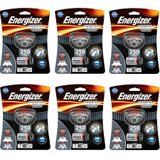 6 Pack Energizer Vision HD+ Focus LED Headlamp (Batteries Included) New