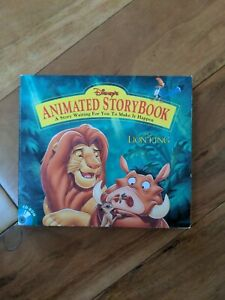 The Lion King Animated Story Book Disney 1994  CD-ROM for Windows PC
