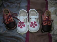 joli lot bebé fille CUIR bopy 20 + sandales babies 21 pat et ripaton