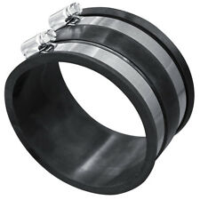 Dust Collector Hose Cuff Clamp 4in Rubber Wood Work Shop Vacuum System Accessory