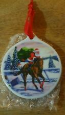 Hollywood park Racetrack Christmas Ornament