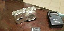 Panasonic LUMIX DMC-TZ3 7.2MP Digital Camera W/ Leica 10X Optical Zoom- SILVER