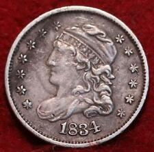 1834 Philadelphia Mint Silver Capped Bust Half Dime