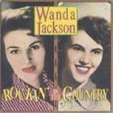 Wanda Jackson Rockin' in the country (18 tracks, 1956-70, Rhino) [CD]