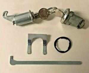 NEW 1962-1965 Chevy II Nova Trunk & Glove compartment lock set- Original GM keys