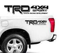 """TRD Toyota 4x4 Sport Truck Tacoma Off road Sport Vinyl Decals Emblem 18"""" x 3"""""""