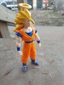 Super Saiyan 3 Goku with Halo Dragonball Z Action Figure Irwin Dragon Ball