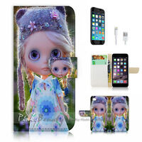 ( For iPhone 7 Plus ) Wallet Case Cover P1172 Beautiful Doll