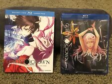 Guilty Crown Blu-Ray/DVD Sets. Part 1 & 2 New Sealed