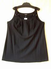 Samoon Top/Kurz Kleid by Gerry Weber schwarz Stretch ViskoseMix Neu Damen Gr.48