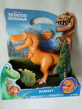 Good Dinosaur Ramsey Large Action Figure Poseable/Biting Jaw Tomy T-Rex