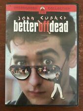 Better Off Dead (Dvd, 2002)*John Cusack