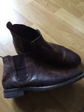 NEXT mens brown chelsea boots - UK 7 - 41