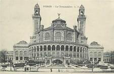 Cartes d`autrefois France Paris Trocadero