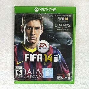 FIFA 14 (Microsoft Xbox One, 2013) Complete-Bad Case - Lionel Messi Cover