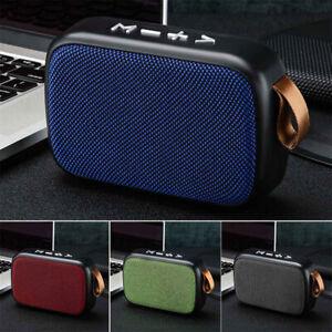 Wireless Mini Bluetooth Speaker Waterproof Outdoor Stereo Bass USB/TF/FM Radio