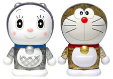 "New Variarts Doraemon 099 & 100 Limited Edition Figure Set 8cm/3"" Vd99100 Usa"
