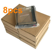 "New HP 8Pcs G8 Gen8 651687-001 SFF2.5"" HDD Tray Caddy 651699 DL380p DL388 DL360p"