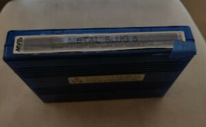 Metal Slug 5 Plus MVS Cartridge in Very Good Condition, Tested!