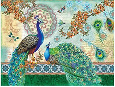 Royal Peacocks 500 pc Jigsaw Puzzle By SunsOut New FSH