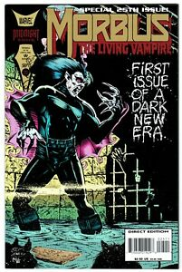 MORBIUS 25  52-Page Anniversary Issue! Gold Ink Logo!  Pin-Up Gallery! VF+ (8.5)