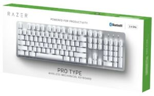 Razer Pro Type - Wireless mechanical keyboard for productivity