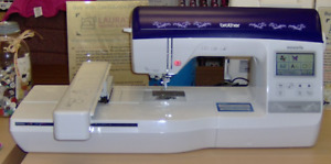 BROTHER NQ1400E Embroidery Machine with 6x10 Hoop, USB, Color Screen and more