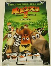 MADAGASCAR 2 27X40 DS MOVIE POSTER ONE SHEET NEW AUTHENTIC