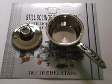 NEW STILL SOLINGEN COLLECTION POT W/LID 18/10 STAINLESS STEEL