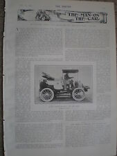 Printed Photo new motor car for Shah of Persia 50HP 80mph 1902  ref W2