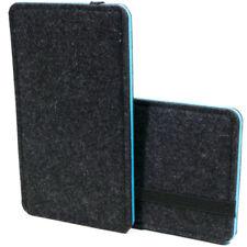 Filz Handytasche für Smartphone Blackberry KEYone Hülle Etui Slim Case