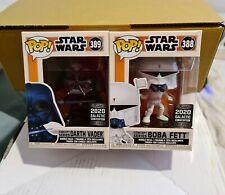 Boba Fett + Darth Vader Concept Series Star Wars Pop Vinyl Funko