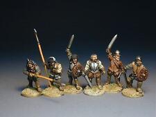 Border Reivers - The March Warden ( 6 Unpainted foot figures)