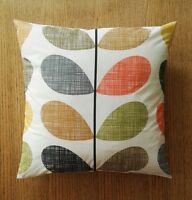 """Retro Orla Kiely SCRIBBLE STEM MULTI cushion cover 16"""" /18"""" /20"""" ( 40/ 45 /50cm)"""