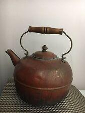 Vintage Copper  Bronze Kettle