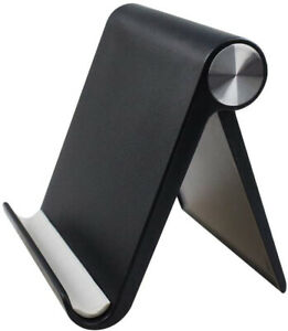 """Universal Tablet Phone Desk Stand Holder Mobile Phone Folding Portable 4"""" to 10"""""""