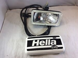 NEW Hella Halogen Driving Auto Car Boat Fog Lamp Light White 181 & Cover