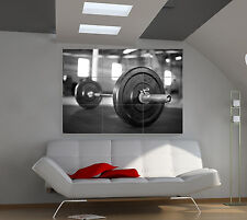 """Weight dumbells Huge Art Giant Poster Wall Print 39""""x57"""" px93"""