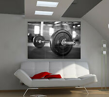 "Weight dumbells Huge Art Giant Poster Wall Print 39""x57"" px93"