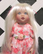 Doll Wig, Monique Gold Rheanna Size 4/5 in White Blonde