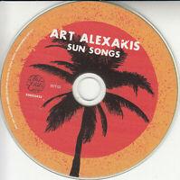 ART ALEXAKIS Sun Songs 2019 UK 11-trk promo test CD + press release Everclear