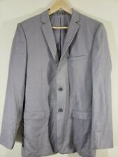 Tazio Italy Mens Gray Suit Jacket Hand Tailored